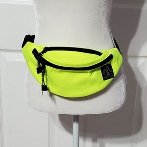 American Eagle Outfitters Neon Green Fanny Pack